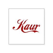 Kaur name Square Sticker 3