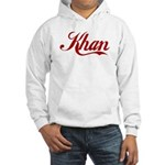 Khan name Hooded Sweatshirt