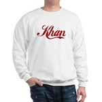 Khan name Sweatshirt