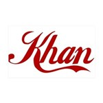 Khan name 35x21 Wall Decal