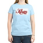 Khan name Women's Light T-Shirt