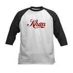 Khan name Kids Baseball Jersey