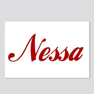 Nessa name Postcards (Package of 8)