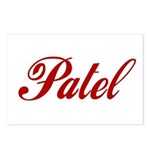 Patel name Postcards (Package of 8)