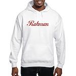 Rahman name Hooded Sweatshirt
