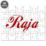 Raja name Puzzle