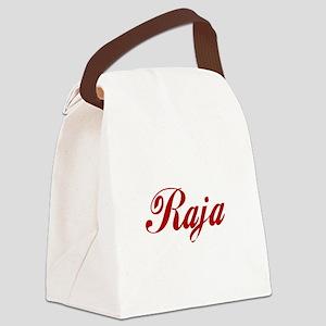 Raja name Canvas Lunch Bag