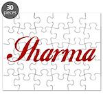 Sharrma name Puzzle