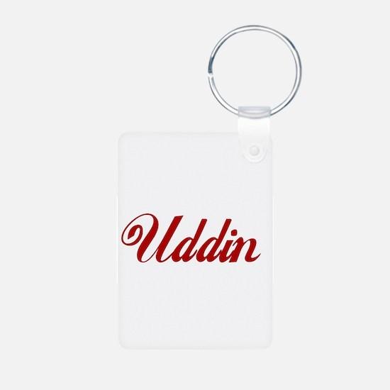 Uddin name.png Keychains