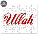 Ullah name Puzzle