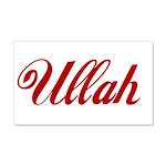 Ullah name 20x12 Wall Decal