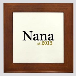 New Nana Est 2013 Framed Tile