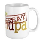 Promoted to Great Grandpa Large Mug