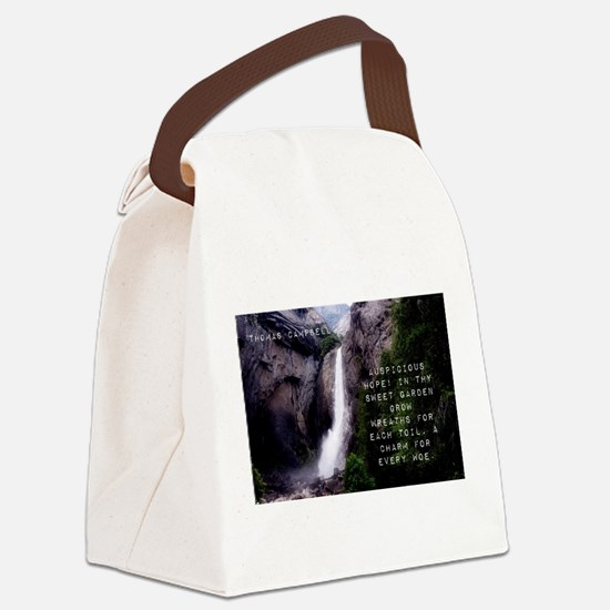 Auspicious Hope - Thomas Campbell Canvas Lunch Bag