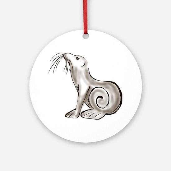 Seal - ZooWhirlz Ornament (Round)