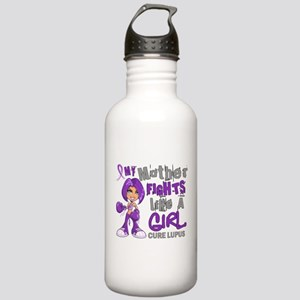 Fights Like a Girl 42.9 Lupus Stainless Water Bott
