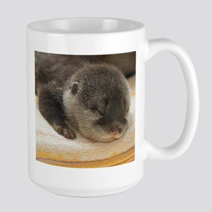 Sleeping Otter Large Mug