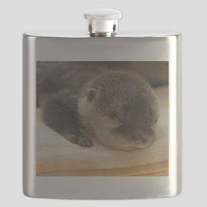 Sleeping Otter Flask