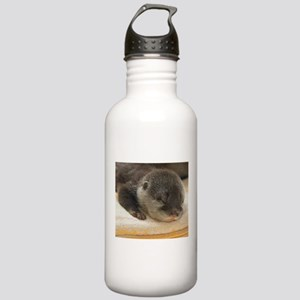 Sleeping Otter Stainless Water Bottle 1.0L
