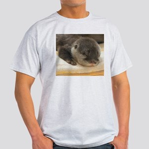 Sleeping Otter Light T-Shirt