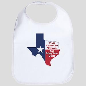 Yall Come to Texas Bib