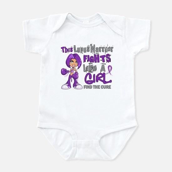 Licensed Fight Like a Girl 42.9 Lu Infant Bodysuit