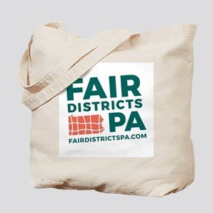 Fair Districts PA Tote Bag