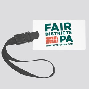 Fair Districts PA Large Luggage Tag