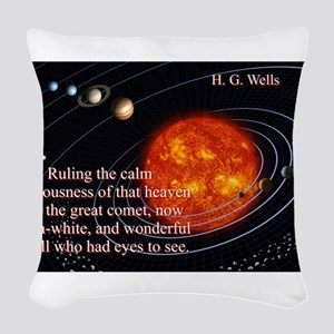 Ruling The Calm Spaciousness - H G Wells Woven Thr