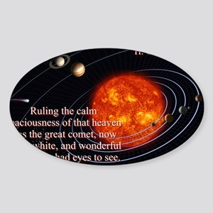 Ruling The Calm Spaciousness - H G Wells Sticker (