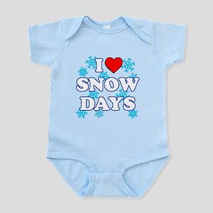 I Love Snow Days Infant Bodysuit