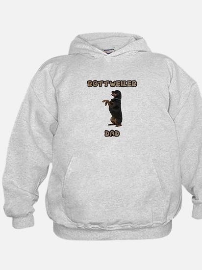 Rottweiler Dad Hoodie
