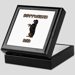 Rottweiler Dad Keepsake Box