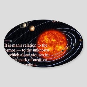 It Is Man's Relation - H P Lovecraft Sticker (