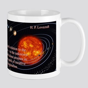It Is Man's Relation - H P Lovecraft 11 oz Cer