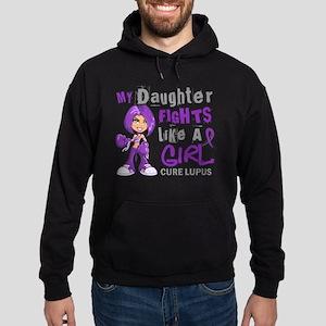 Fights Like a Girl 42.9 Lupus Hoodie (dark)