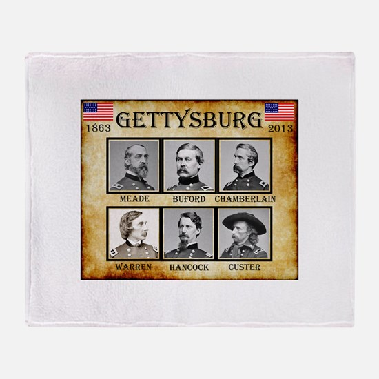 Gettysburg - Union Throw Blanket