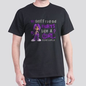 Licensed Fight Like a Girl 42.9 Lupus Dark T-Shirt