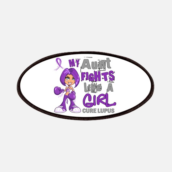 Licensed Fight Like a Girl 42.9 Lupus Patches