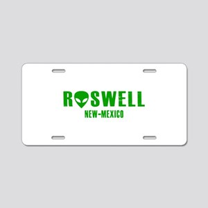 Roswell New-Mexico Aluminum License Plate