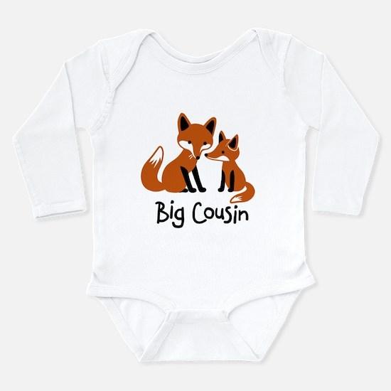 Big Cousin - Mod Fox Long Sleeve Infant Bodysuit