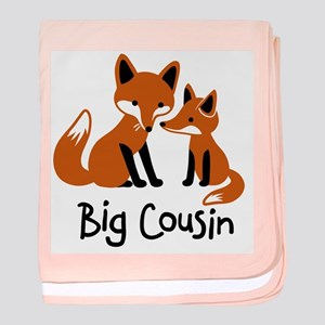 Big Cousin - Mod Fox baby blanket