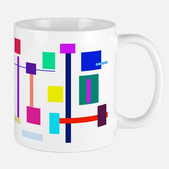 Colorful Squares Mug