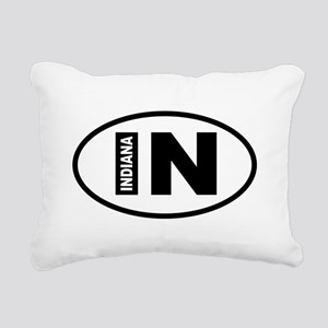 Indiana Rectangular Canvas Pillow
