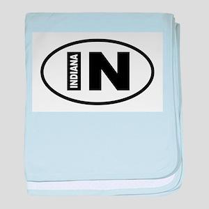 Indiana baby blanket