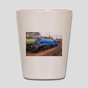 Sir Nigel Greasley - Steam Engine Shot Glass