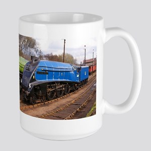 Sir Nigel Greasley - Steam Engine Large Mug