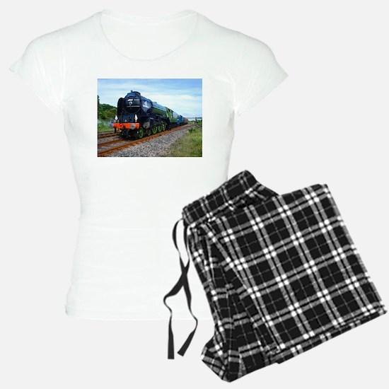 Flying Scotsman - Steam Train.jpg Pajamas