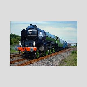 Flying Scotsman - Steam Train Rectangle Magnet