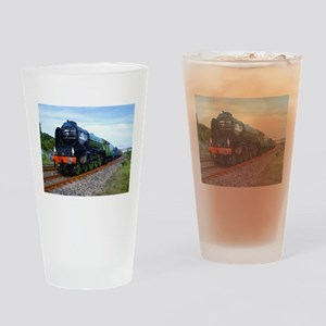 Flying Scotsman - Steam Train Drinking Glass